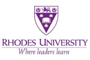 Rhodes University logo